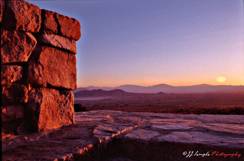 The high desert at daybreak: The ideal place for kundalini meditation